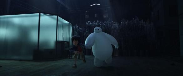 Hiro and Baymax get stealthy.