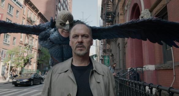 The angel on Michael Keaton's shoulder may be a devil in disguise.