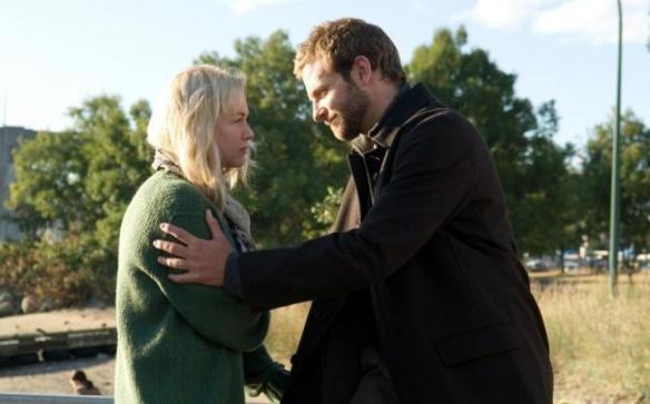 Bradley Cooper bids Renee Zellweger a fond adieu.