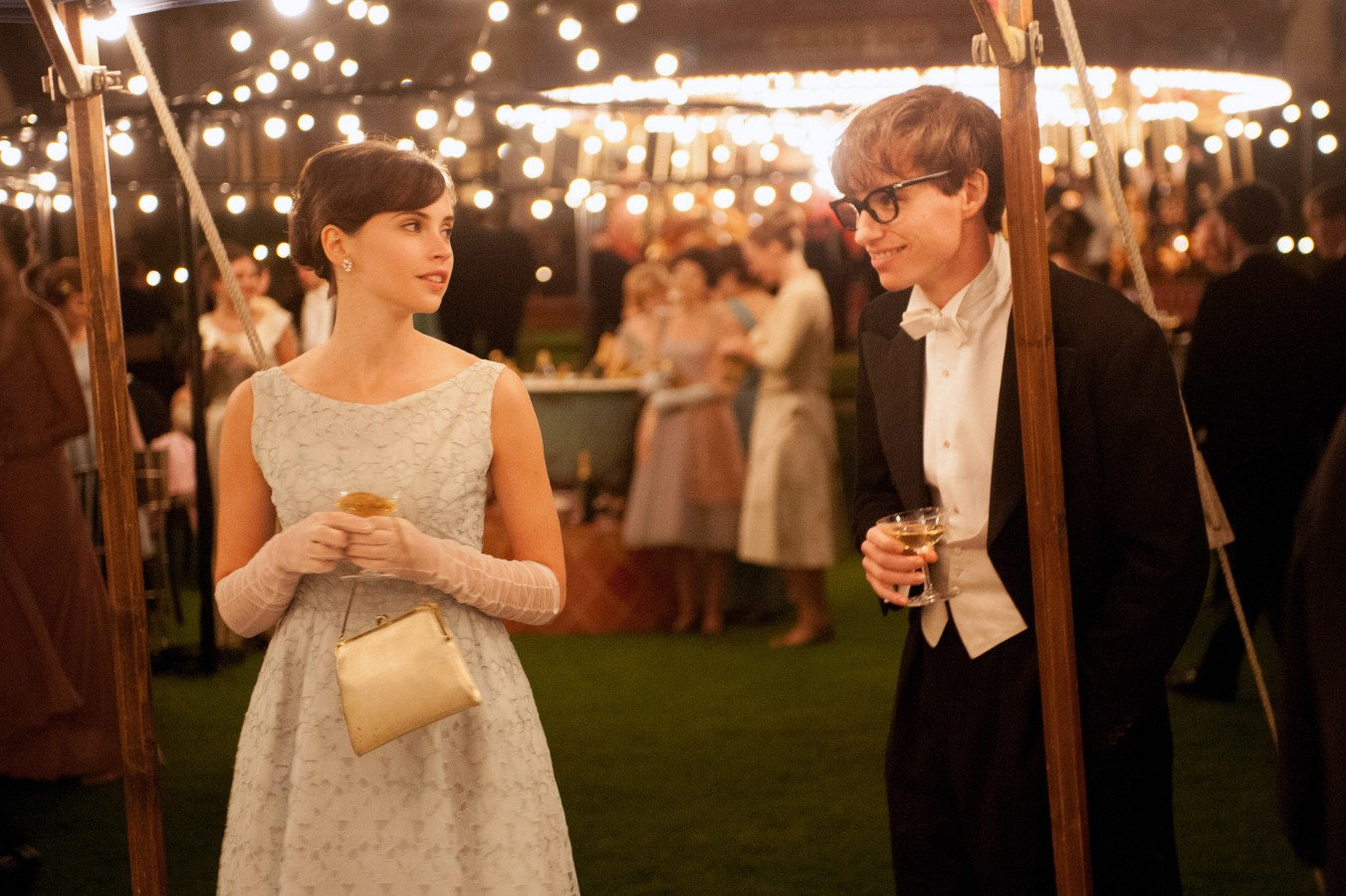 Jane and Stephen Hawking, sneakin' around.