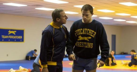 Steve Carell suggests to Channing Tatum that he do an American version of a British sitcom to further his career.