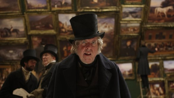Timothy Spall is nothing if not Dickensian.
