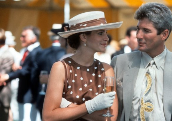 Julia Roberts and Richard Gere do the Ascot Gavotte.