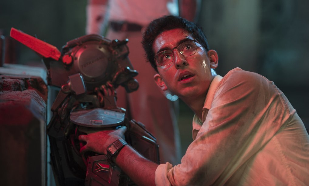 Dev Patel and a new kind of Robocop.