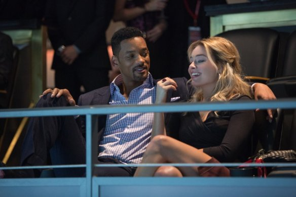 Will Smith and Margot Robbie make an arresting couple.