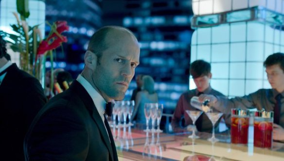 Don't keep Jason Statham waiting for his drink.