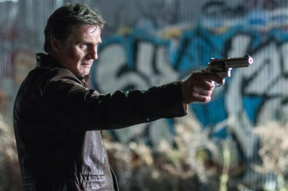 Liam Neeson's having a bad night.