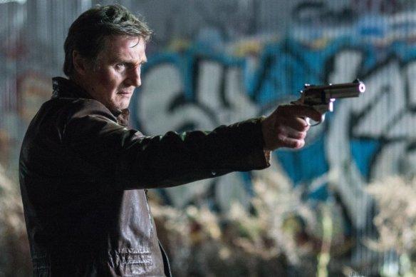 Liam Neeson's having a bad night.