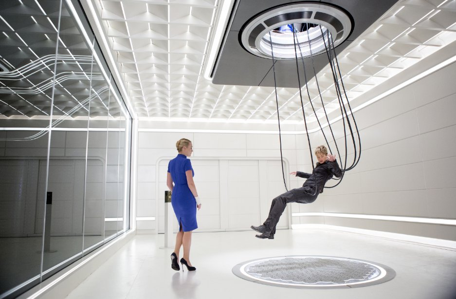 In the future there will be no chairs.
