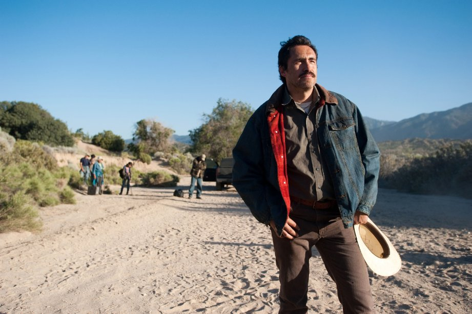 Demian Bichir wonders if there is a better life anywhere.