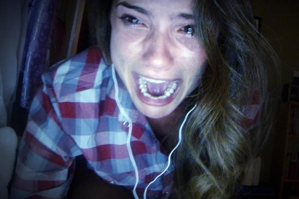 Someone just hacked Shelley Hennig's Facebook page.
