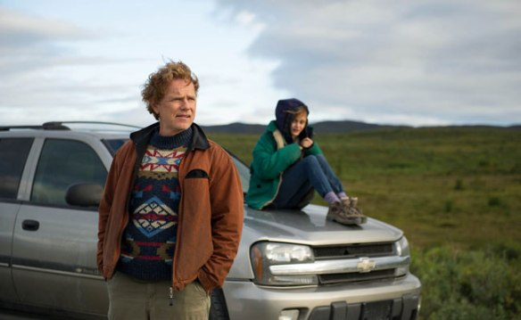 Bruce Davison and Ella Purnell contemplate Alaska.
