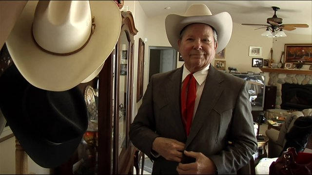 Cowboy elegance.
