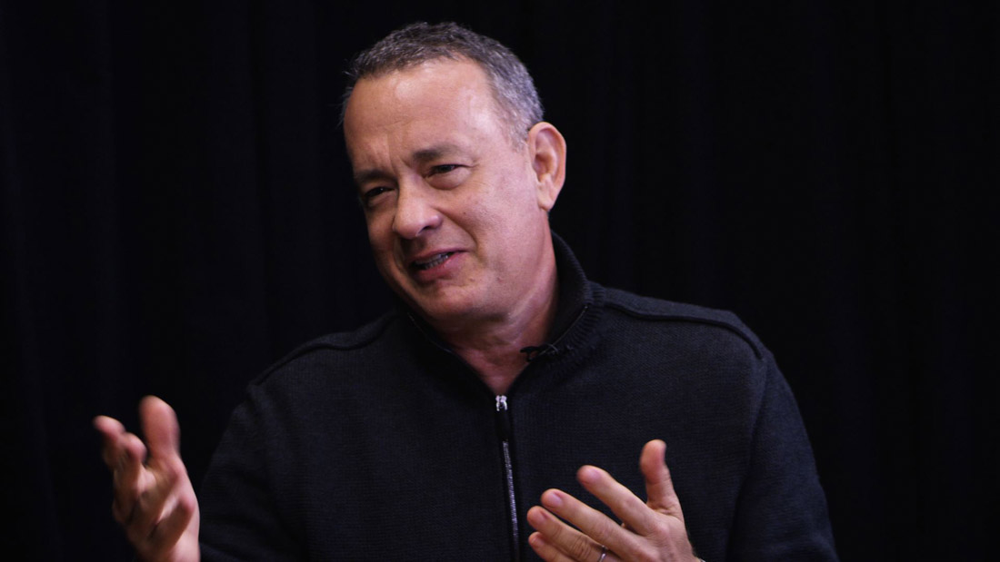 Hanks talks comedy.