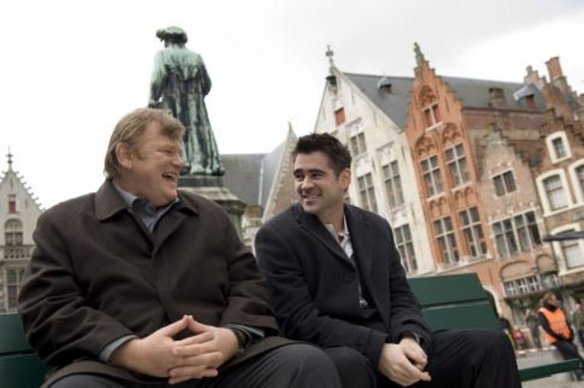 Brendan Gleeson and Colin Farrell enjoy the magic that is Bruges.