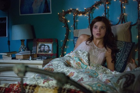 Stefanie Scott hears something that goes bump in the night.