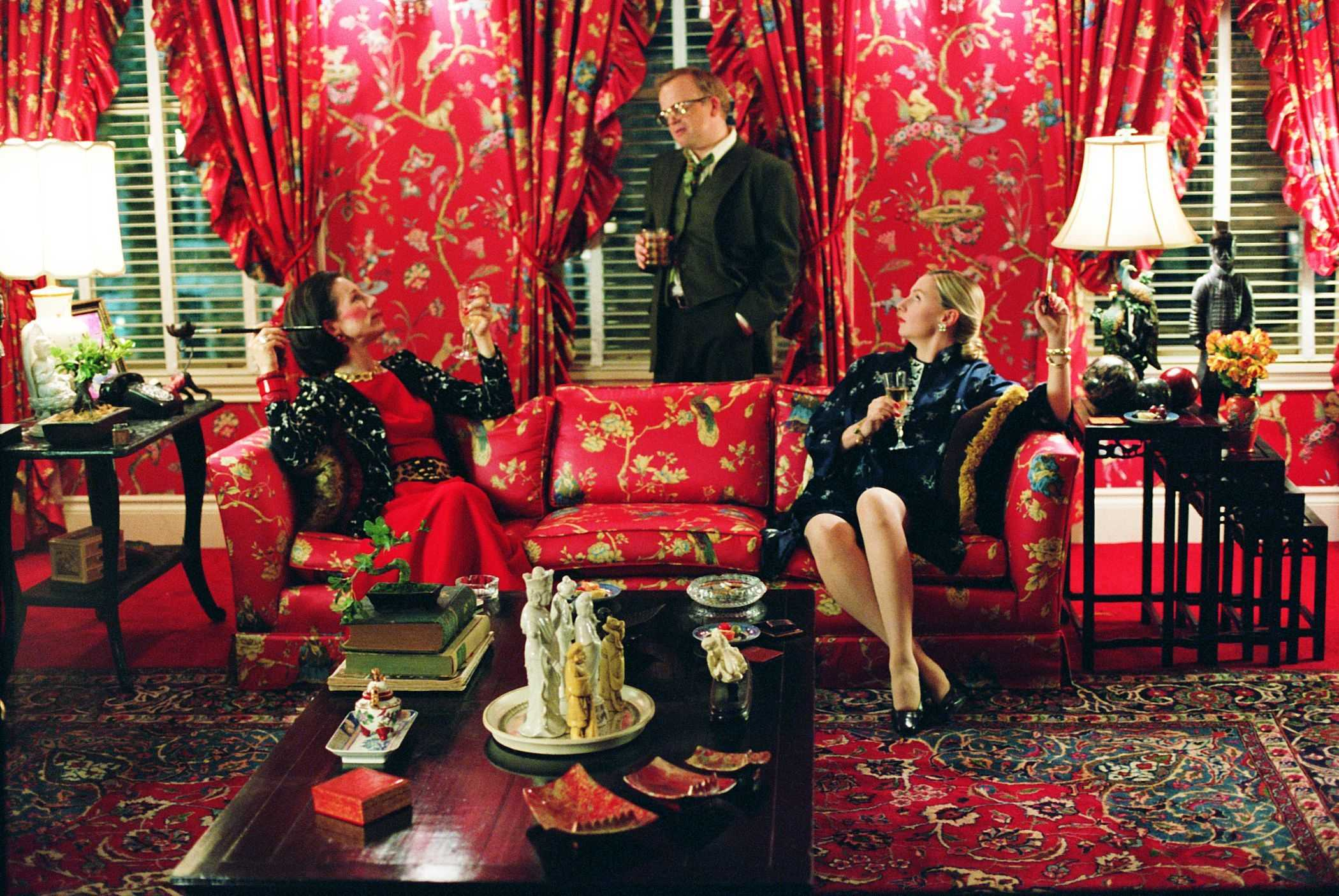 Capote's flamboyant tastes are reflected in his sumptuous Manhattan apartment.