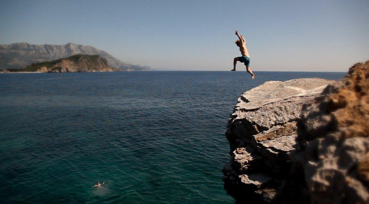 Taking that leap of faith.