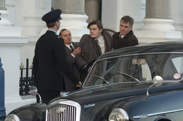 Sam Riley resists going back on set.