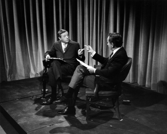 William F. Buckley and Gore Vidal make their points.