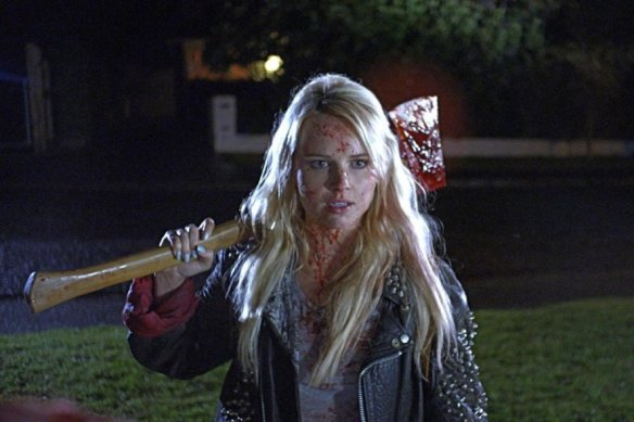 Kimberly Crossman sure can axe.