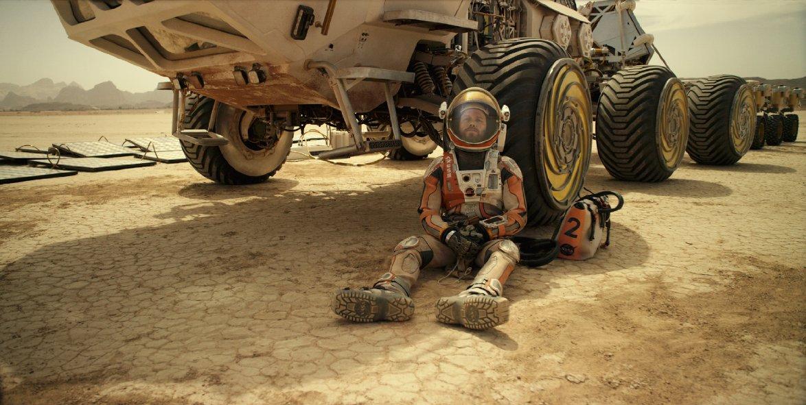 Matt Damon takes a break.