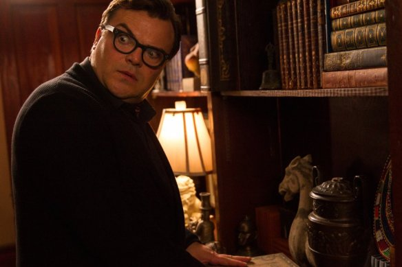 For Jack Black, the only terrifying thing about this movie are the reviews.