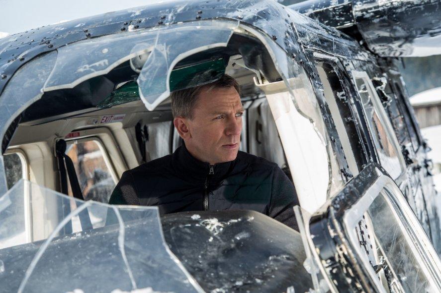 No vehicle is safe around James Bond.