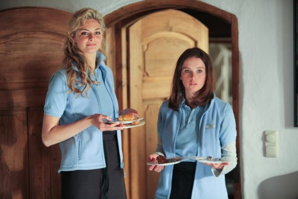 Tamsin Egerton and Felicity Jones have a lot on their plates.