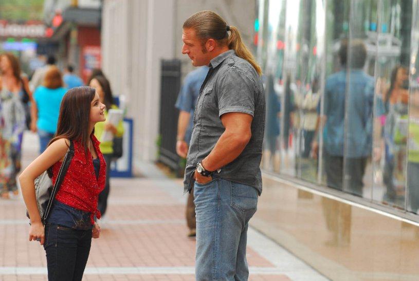 Ariel Winter tells Triple H to suck it.