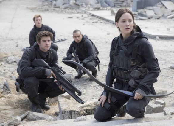 Katniss Everdeen has a thing about Snow.