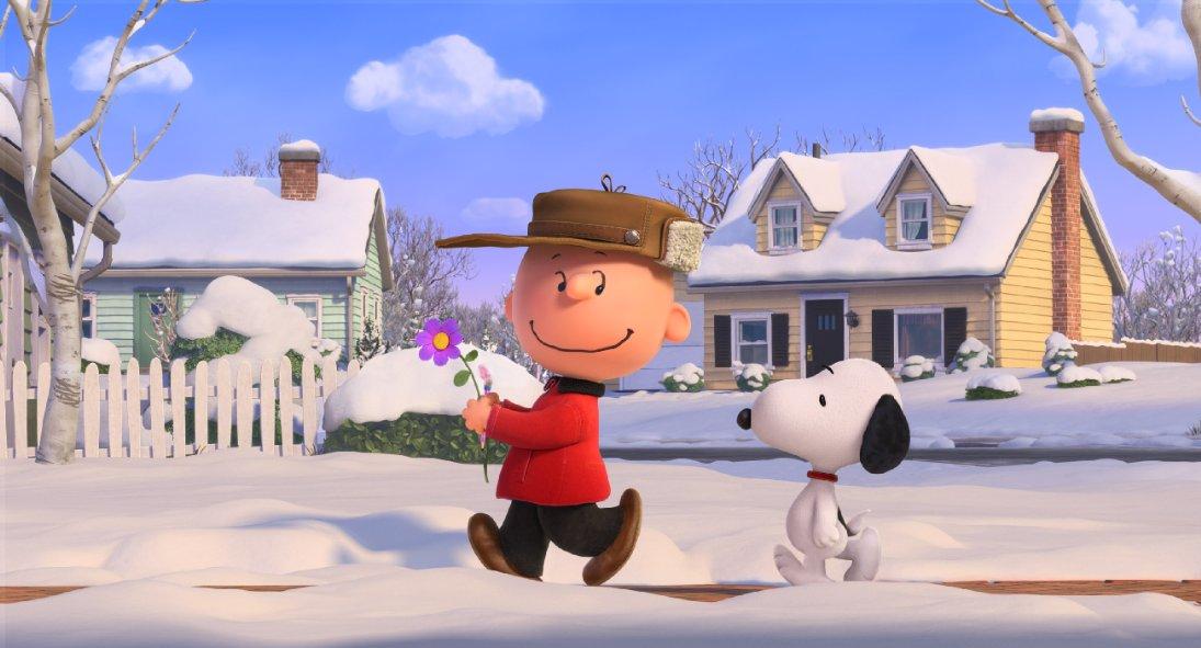 Good ol' Charlie Brown and Snoopy.