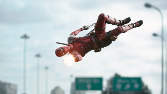 Deadpool is knocking the movie industry sideways.