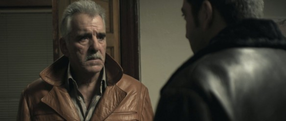Dennis Farina, the prototypical tough guy.
