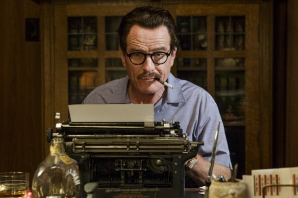 Dalton Trumbo doing what he does best.