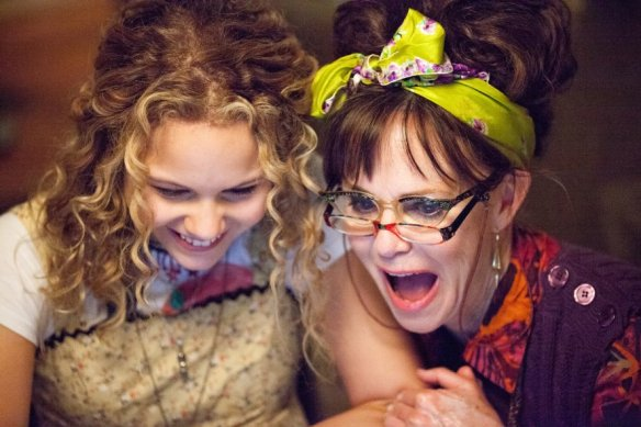 Sally Field has double vision.