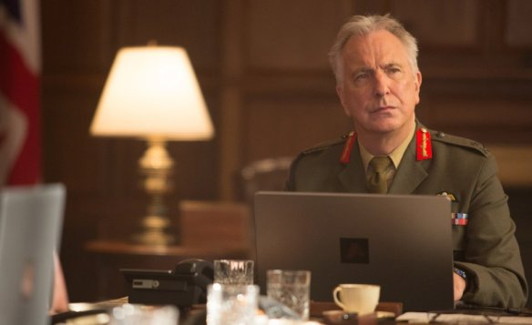 The final onscreen performance of Alan Rickman is a good one.