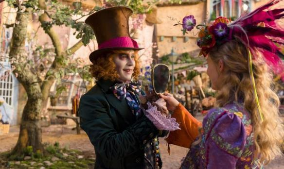 The Mad Hatter through the looking glass.