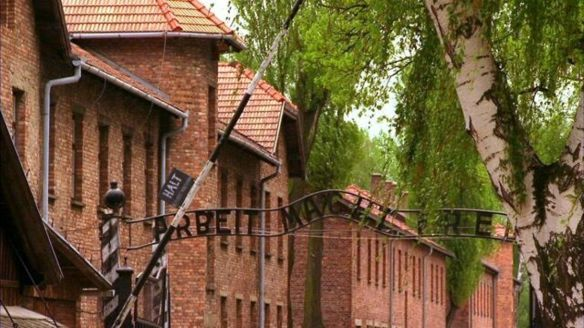 The silent sentinel that is Auschwitz.