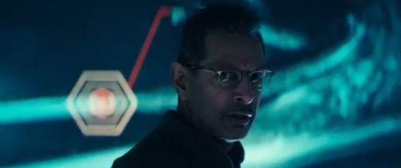 Jeff Goldblum realizes it was a mistake to read the reviews.