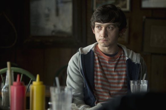 Craig Roberts channels Frodo Baggins.