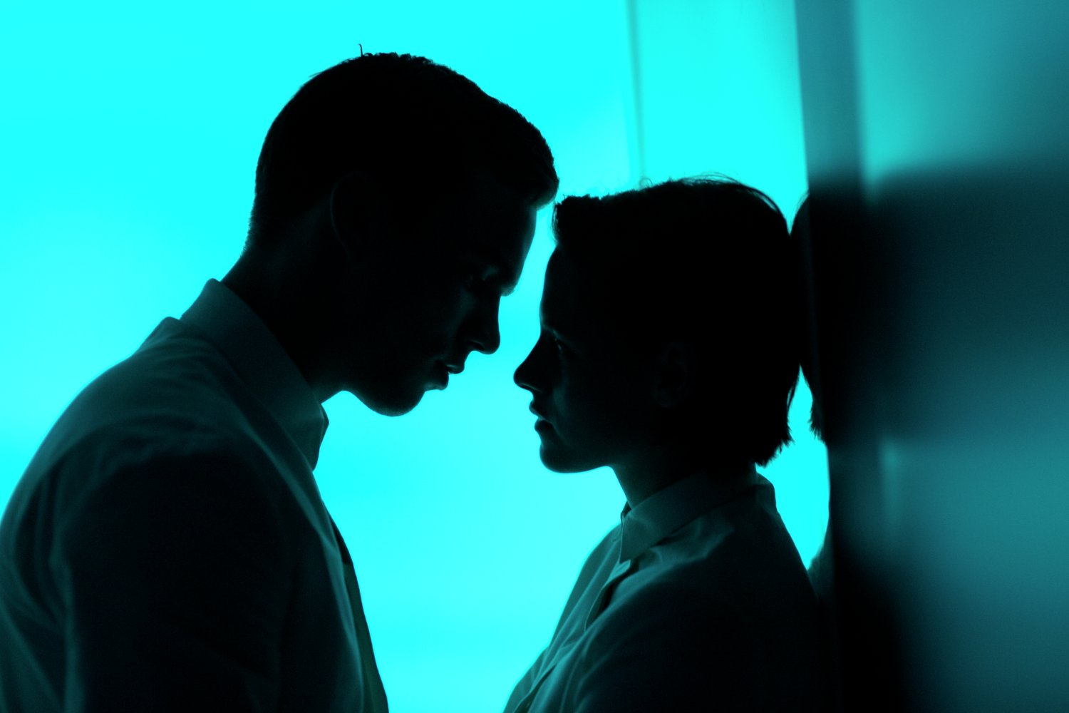 Nicholas Hoult and Kristen Stewart have the blues.