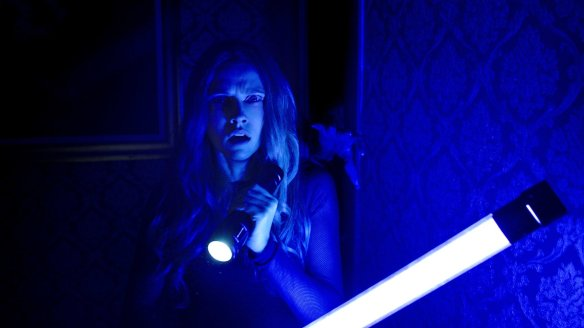 Attention Teresa Palmer: there's a blue light special in the basement.