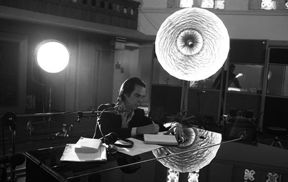 Nick Cave in his element.