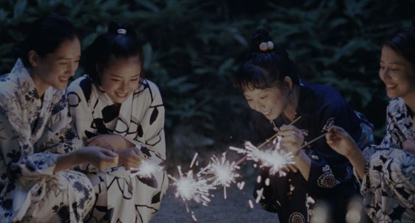 These four delightful Japanese girls create sparks.