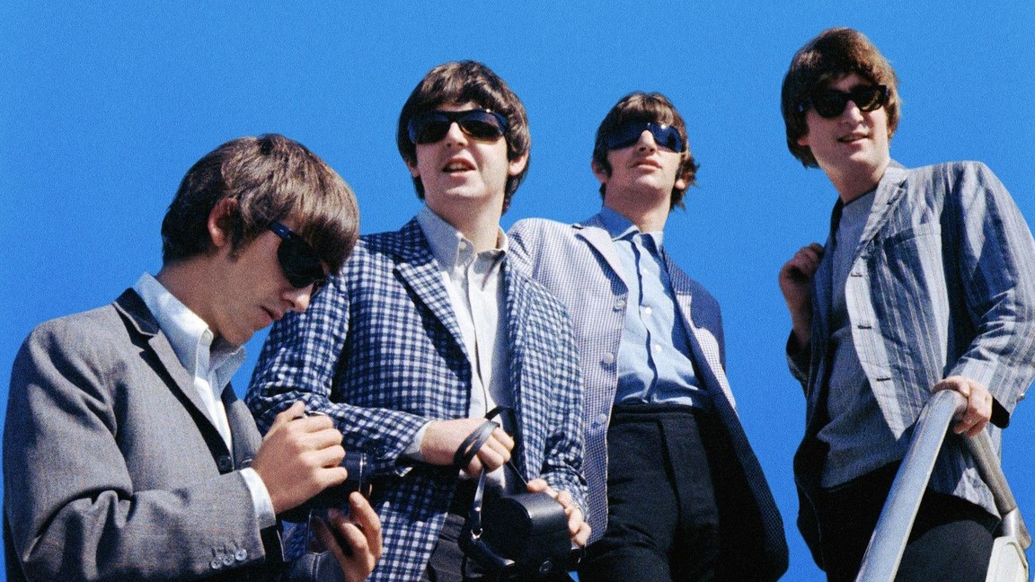 The Fab Four in their glory years.