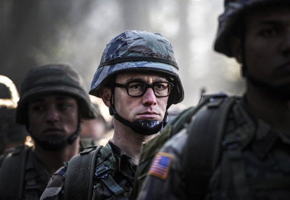 Edward Snowden in the military.
