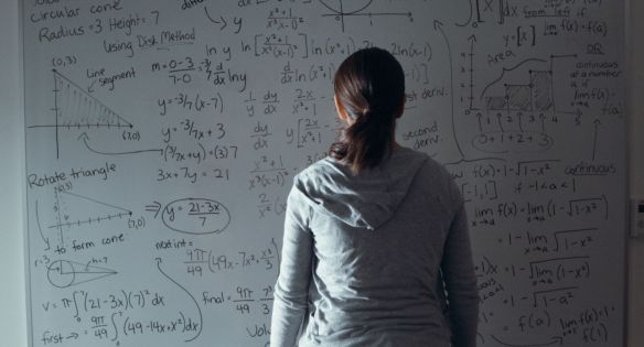 Girls can be great at math too.
