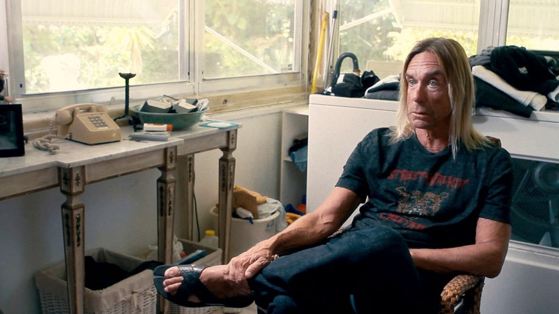 Iggy Pop seems a little surprised to discover that it's 2016.