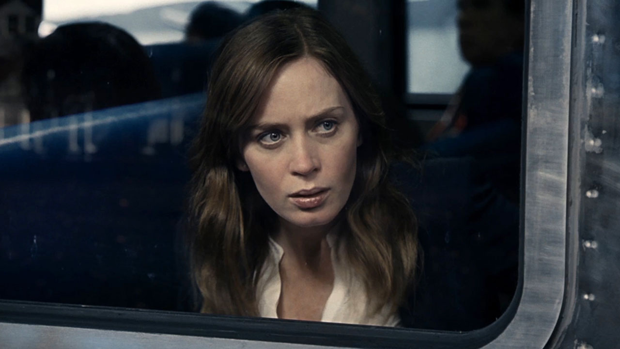 Emily Blunt realizes she's on the express train to Hell.